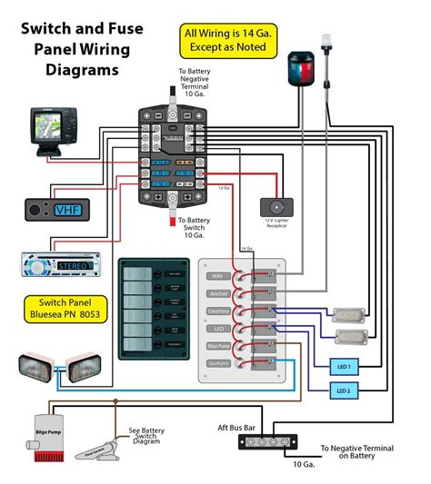 boat switch panel wiring diagram fitfathers me