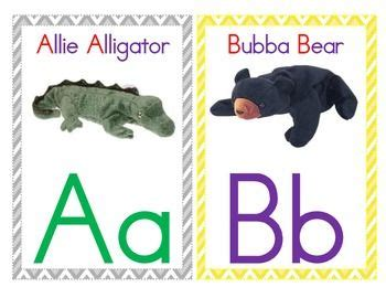 free printable zoo phonics cards alphabet wall cards zoo phonics featuring beanie babies