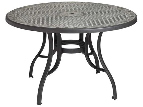 Resin Patio Table - grosfillex cordoba resin 48 dining tables us526102
