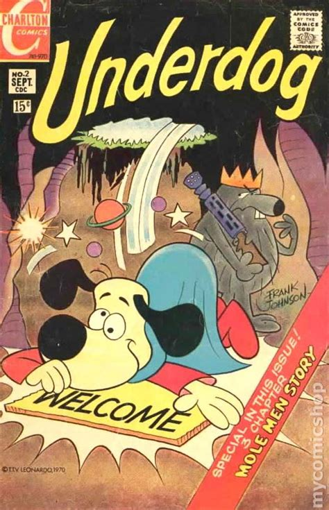 q the story of an underdog books underdog comic books issue 2