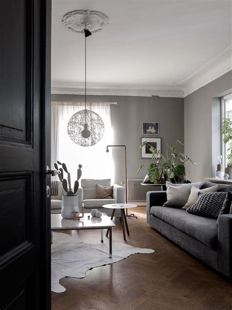 Beige Grey Living Room by 30 Stunning Scandinavian Design Interiors Belivindesign
