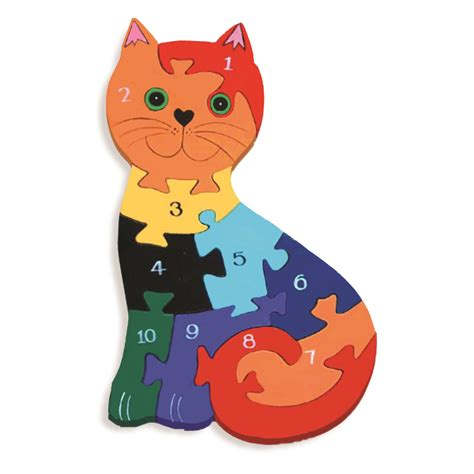 Puzzle Animal abecedario rompecabezas madera animal rompecabezas en