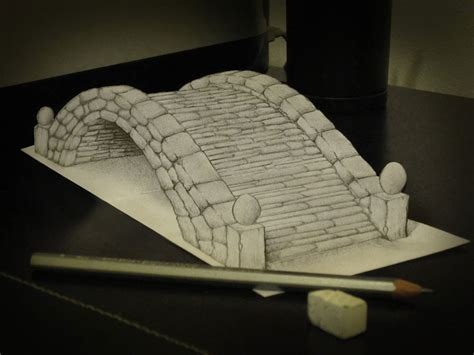3d Sketches On Paper by 3d Pencil Drawings By Alessandro Diddi Bored Panda