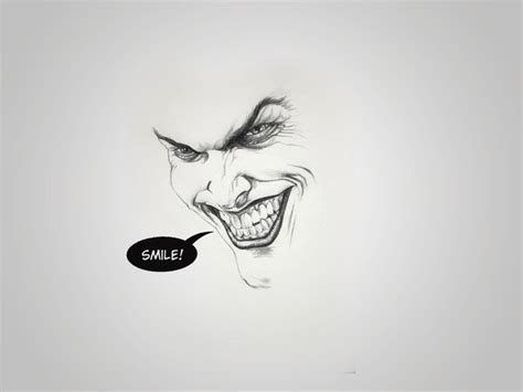minimalist joker tattoo the gallery for gt joker smile drawing