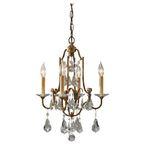 Vintage Mini Chandelier Minka Lavery 3 Light Vintage Bronze Mini Chandelier 3138 284 The Home Depot