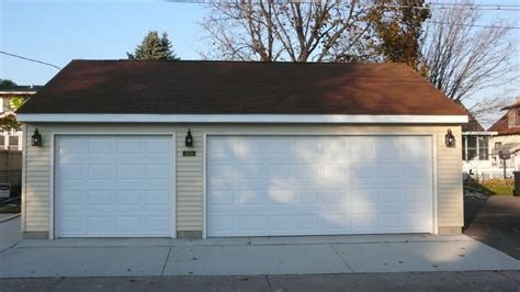 Standard 3 Car Garage Size by Standard Garage Door Sizes Standard Heights And Weights