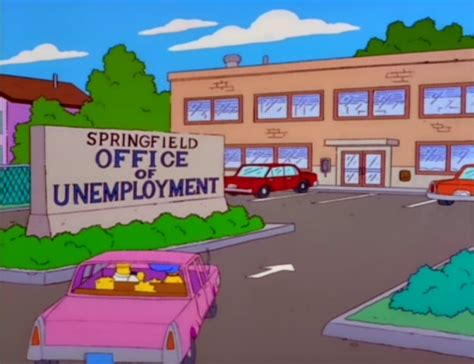 springfield office of unemployment simpsons wiki