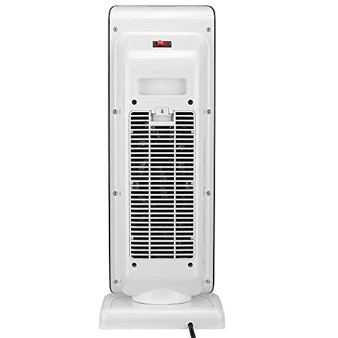oscillating fan with temperature control vonhaus 1500w oscillating ceramic tower fan heater with