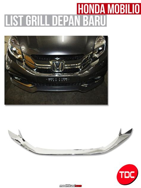 New Honda Mobilio Outer Handle Cover Exclusive Chrome Aksesoris Jsl baru outer handle cover chrome variasi aksesoris honda mobilio lengkap