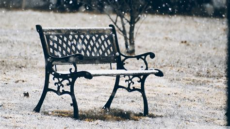 bench snow download snow covered bench wallpaper 1920x1080