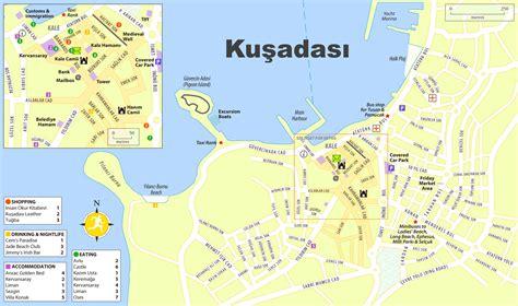 kusadasi city map a map of antalya html a usa states map collections