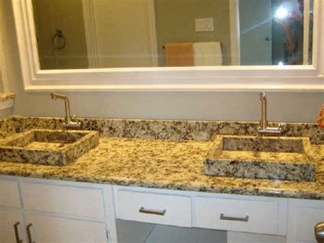 Glass Countertops Bathroom by Glass Countertops Bathroom Images