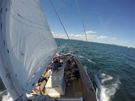 boat tour newport sloop eleanor sail boat tours newport ri