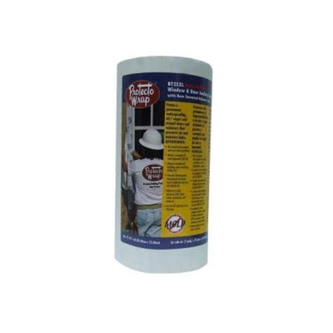 protecto wrap bt25xl 12 in x 75 ft window door sealing