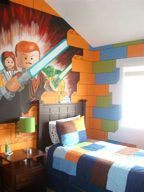 lego bedroom wallpaper