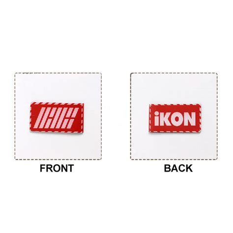 Ready Stock Logo Keychain Acrylic Bts And Wanna One ikon logo bookmark kpop mall usa