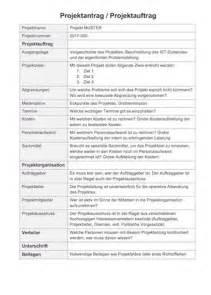 Word Vorlage Konzept Projektauftrag Vorlage Muster Und Vorlagen Kostenlos