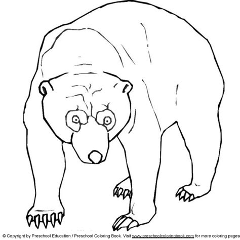 beaver coloring pages preschool www preschoolcoloringbook com animal coloring page