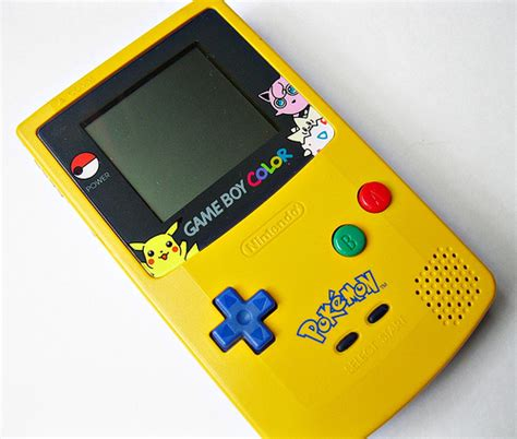 gameboy color pikachu edition photo