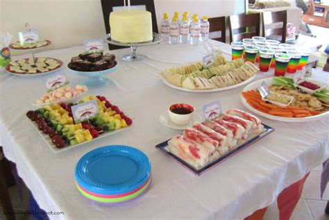party themes with food food party themes ideas images