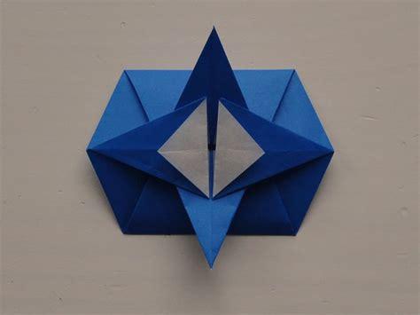 Origami Tato Box - origami traditional hexagonal tato tutorial idee 235 n voor