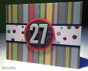 diy a s birthday card diy fyi creatively created