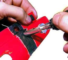 Gebrochene Motorrad Verkleidung Reparieren by Orbi Tech Kunststoff Schwei 223 Draht In Allen Farben