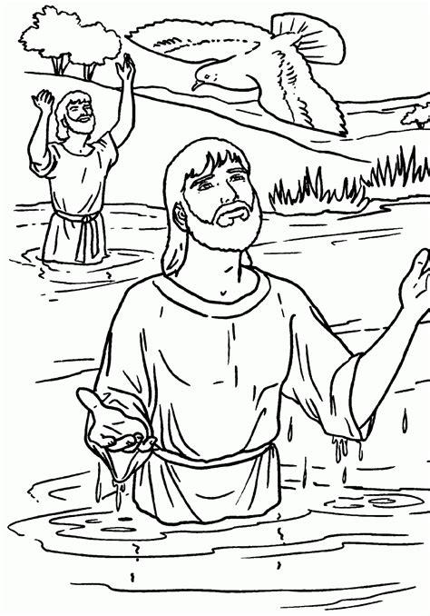 dibujos para colorear de la paloma del espiritu santo jesus bautizandose para colorear paloma del espiritu