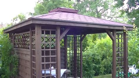 Gazebo Pergola Construction Diy Installation How To Youtube Average Cost Of A Pergola