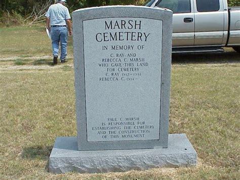 Blount County Alabama Records Marsh Cemetery Blount County Alabama