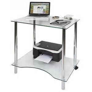 glass computer desk crystal contemporary clear glass computer desk workstation