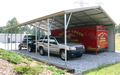 Large Car Port by 4 Creative Carport Ideas Mesa Awning