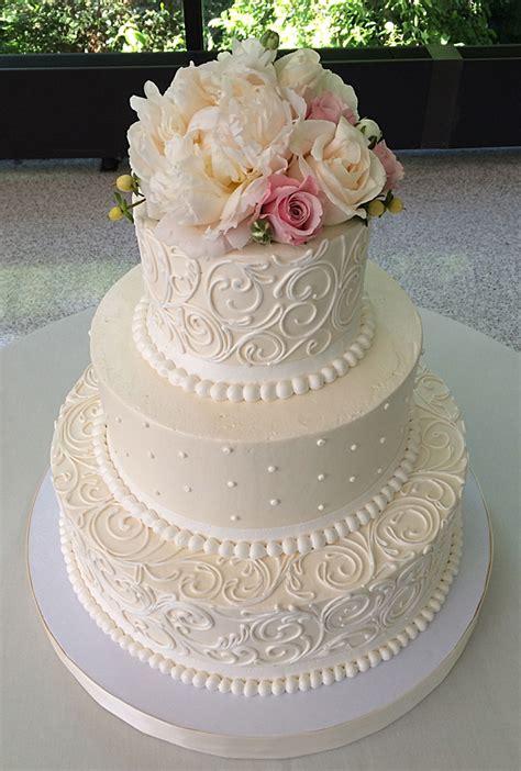 classic wedding cakes white flower cake shoppe