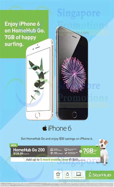 128 80 homehub go 200 apple iphone 6 187 starhub broadband mobile cable tv other offers 25