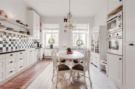 Classic White Kitchen Designs Scandinavian Style Home With A Twist