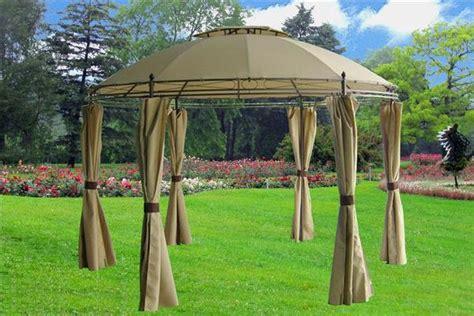 11 By 11 Gazebo Gazebo Canopy 11 X11 Beige With Mosquito Net
