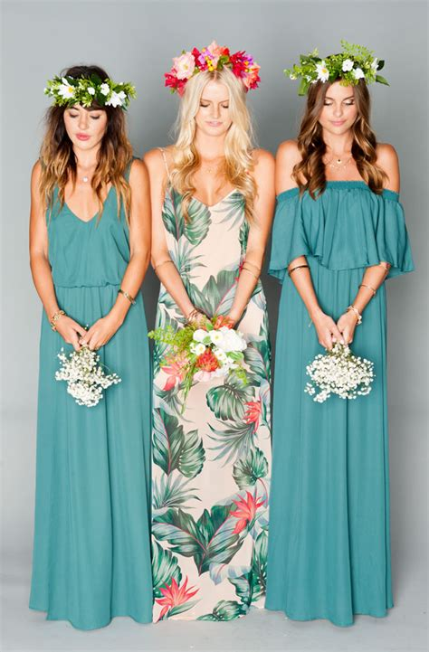 Simple Chic Bridesmaid Dresses