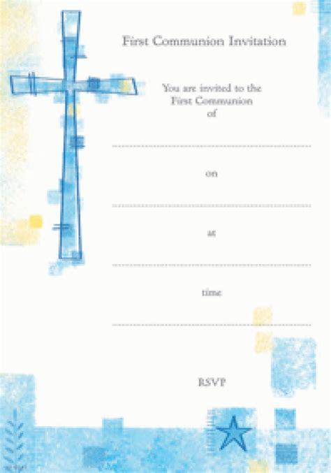 20 pack communion invitations confirmation invitations