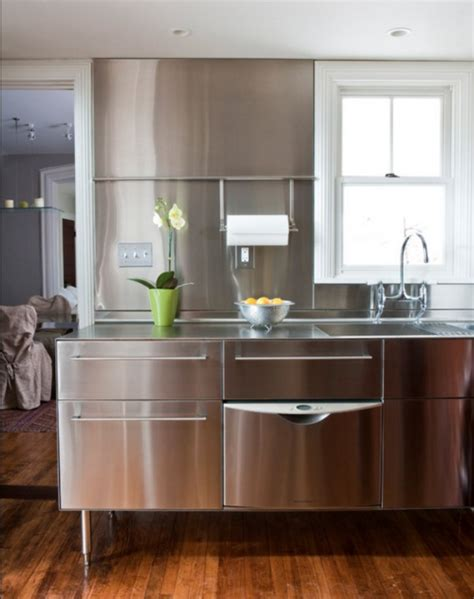 stainless steel kitchen island contemporary kitchen ideas with stainless steel kitchen