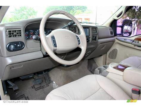 Custom Ford Excursion Interior by Medium Parchment Interior 2000 Ford Excursion Limited 4x4