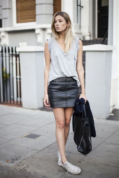 leather skirt leathernxg