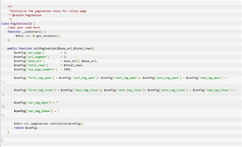 mpdf codeigniter tutorial how to work with codeigniter pagination bpm moh programmer