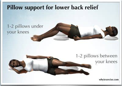 sleeping positions to reduce back hip aches livestrong com lower back pain remedy an illustrated guide