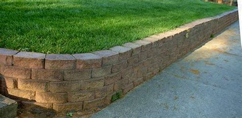 Retaining Wall Corners Building Retaining Wall Flower Bed Images