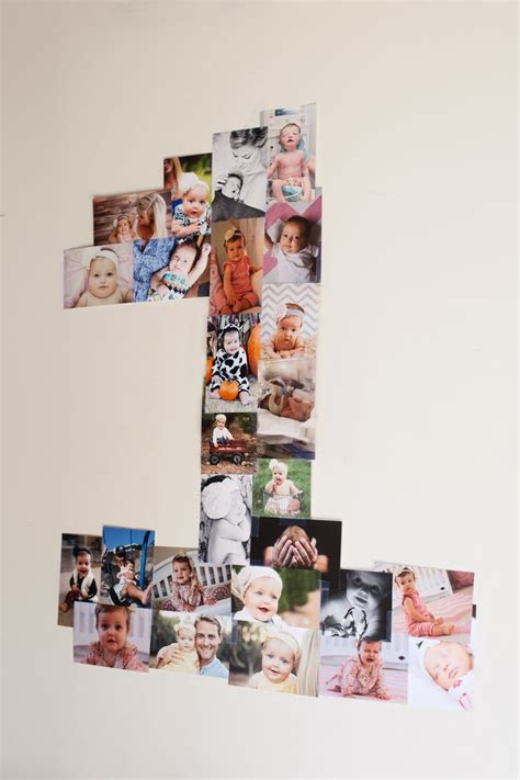 Handmade Photo Collage For Birthday - 17 best ideas about birthday photo collages on