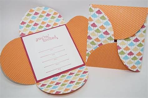how to make petal fold wedding invitations easy diy petal wedding invitation cards susty