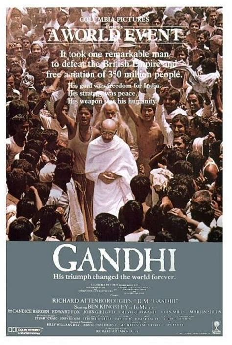 biography of mahatma gandhi movie interesting facts of incredible india gandhi a film