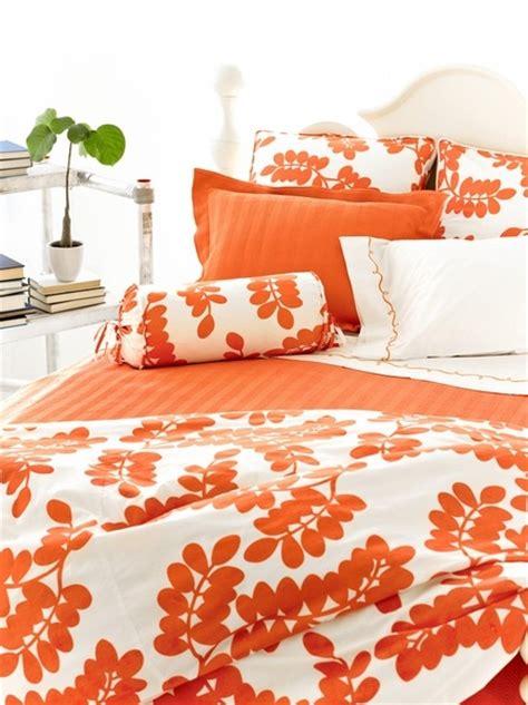 orange and white bedding 25 best ideas about orange bedding on pinterest funky
