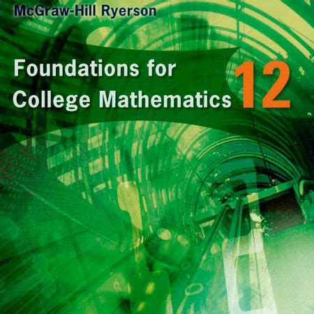 foundation for college mathematics books canada eschool map4c textbook foundations for college