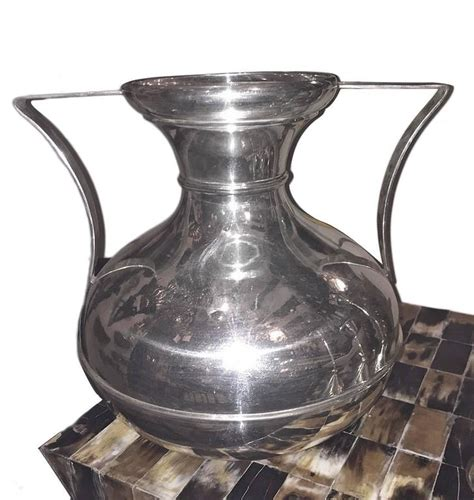Silver Vases For Sale Pair Of Silver Plated Vases For Sale At 1stdibs